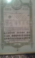 Ahmet Rıza Efendi  Diploma