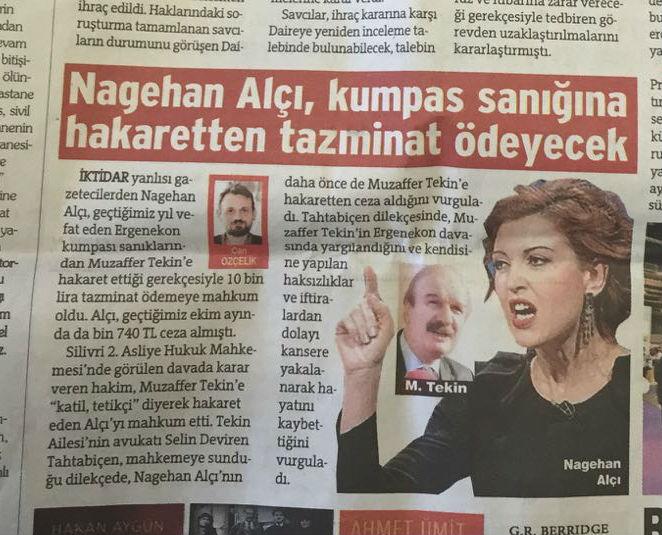 Nagehan Alçı mahkum oldu!